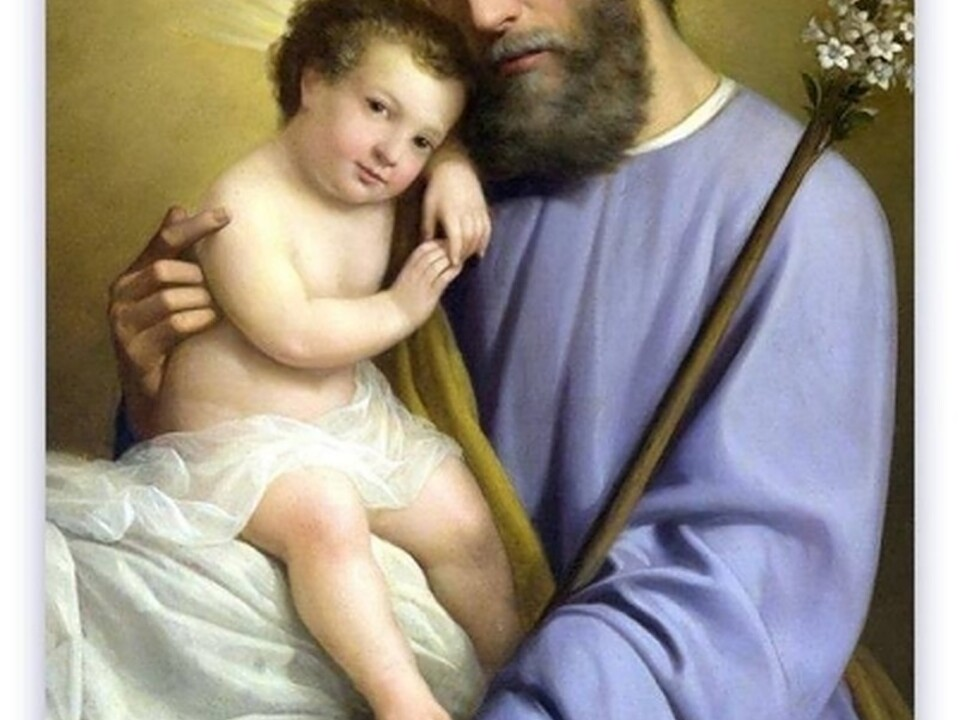 Der Hl. Josef mit  Jesukind