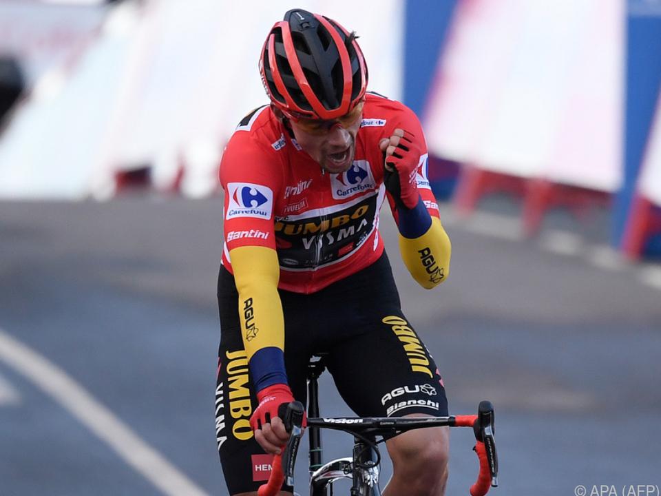 Der Slowene Primoz Roglic ist der beste Radsportler des Jahres