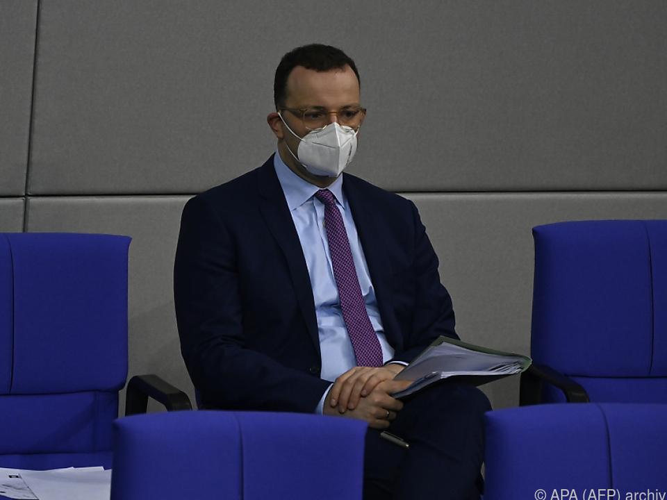 Deutschlands Gesundheitsminister Spahn