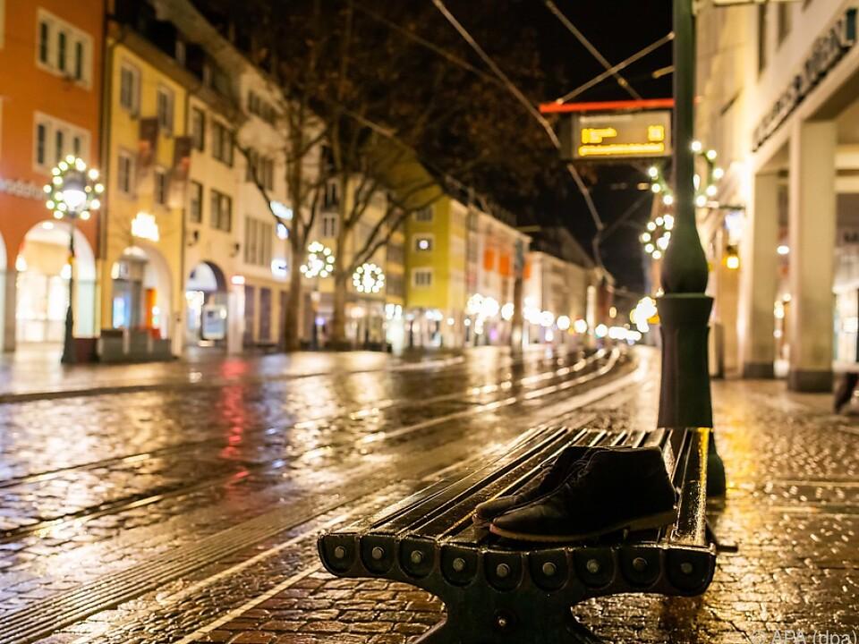 Die deutschen Straßen sind wie leer gefegt