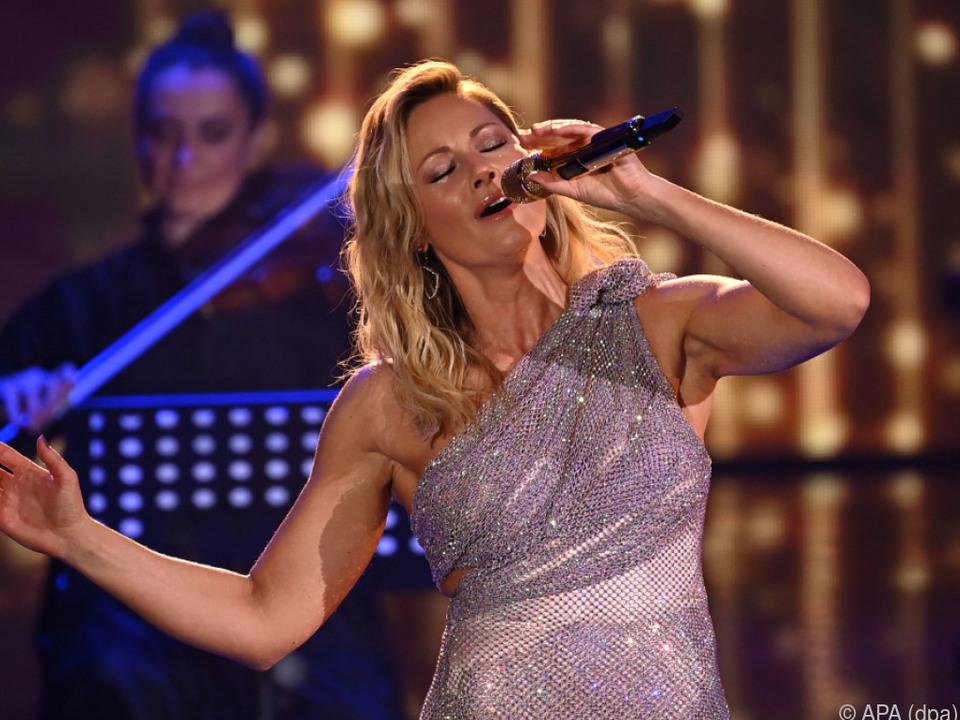 Die Sängerin ist zurück auf der Bühne