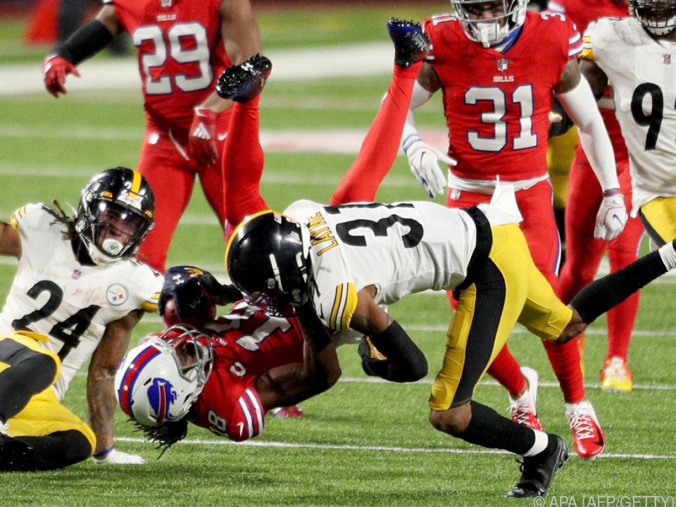 Die Steelers mussten sich erneut geschlagen geben