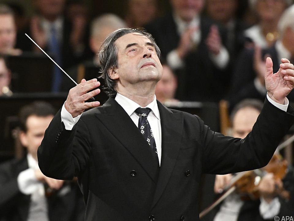 Riccardo Muti als Dirigent des Neujahrskonzerts 2018