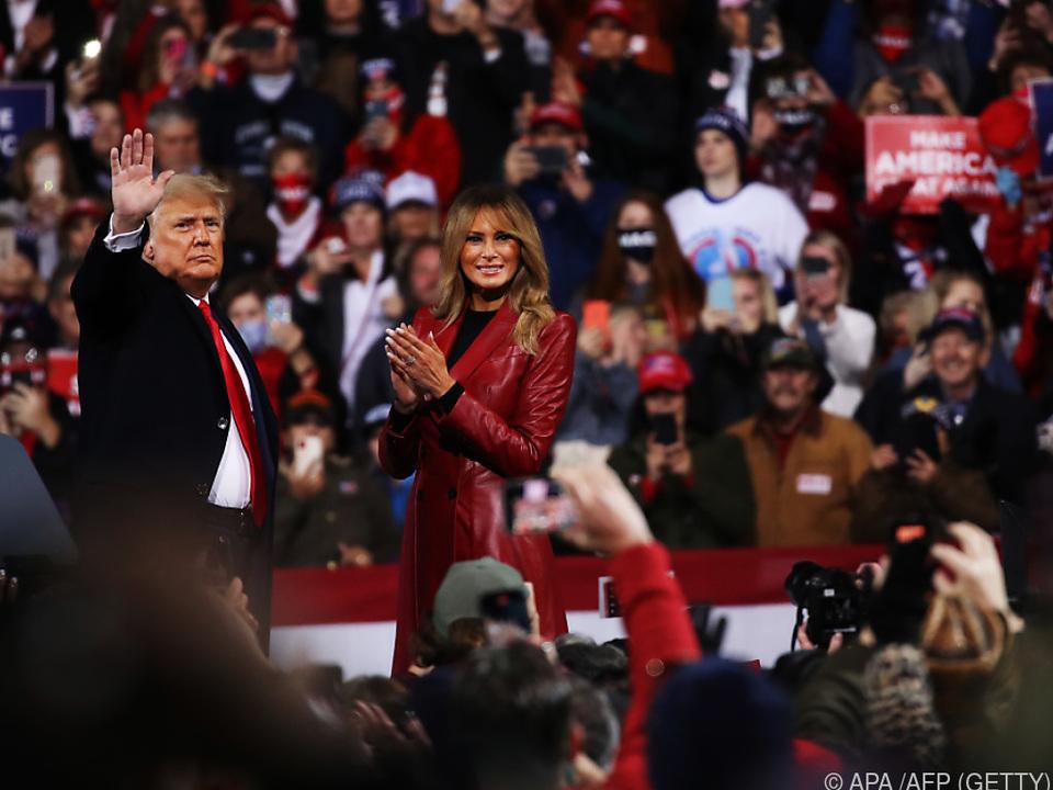 Donald Trump weigert sich weiterhin seine Niederlage einzugestehten