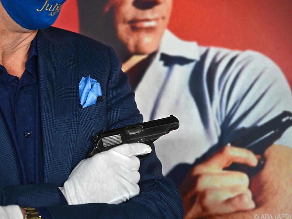 Ein Bieter ersteigerte die berühmte Walther PP