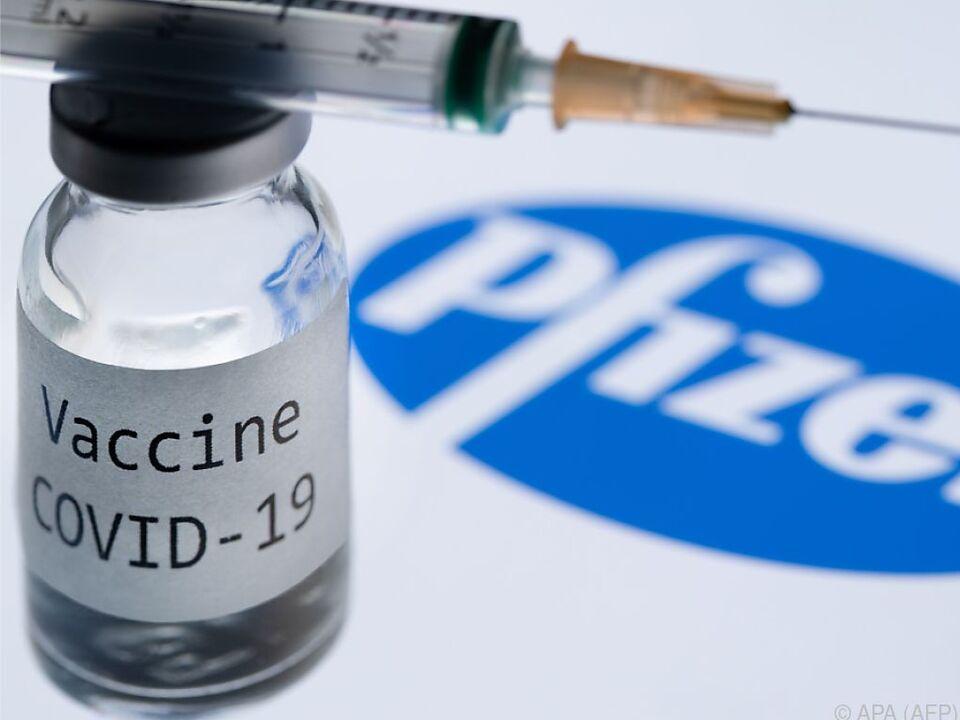 Eine allergische Reaktion auf den Impfstoff ist möglich