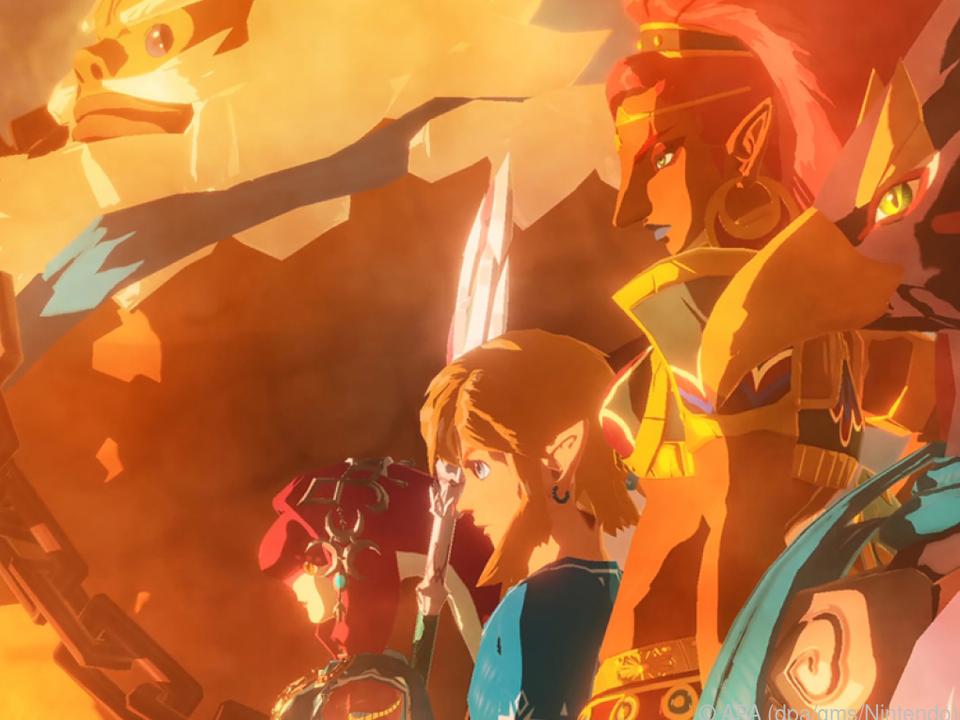 Im Lauf des Spiels trifft Link viele andere Charaktere aus dem \