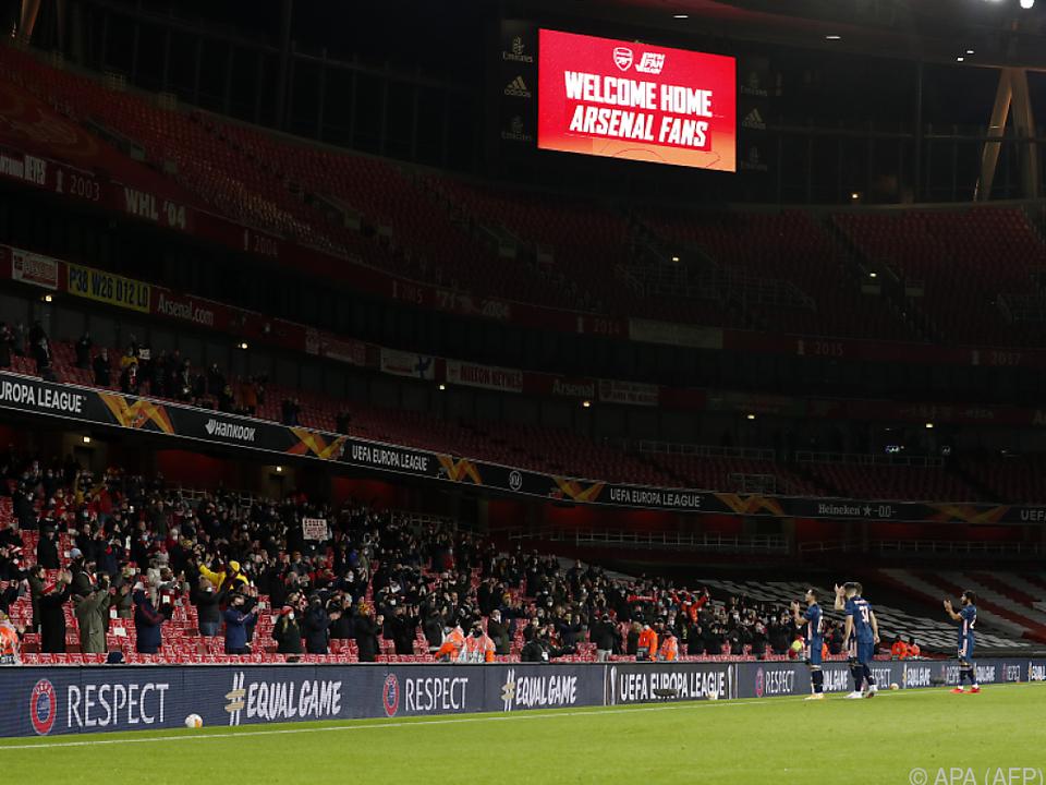 Es dürfen wieder Fans zum Match