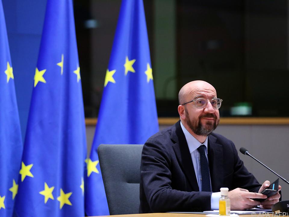 EU-Ratspräsident Charles Michel