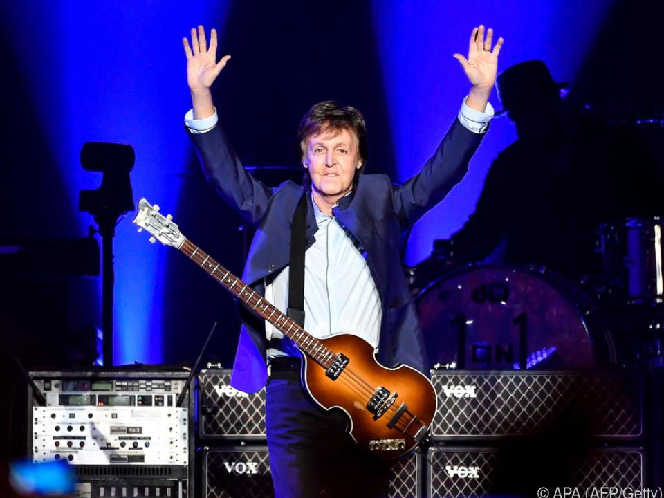 Ex-Beatle lässt seine Karriere Revue passieren