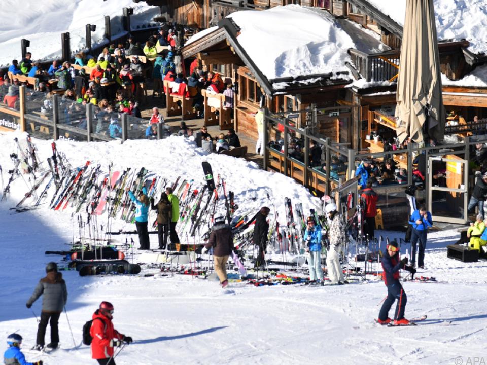 Fast 16 Millionen Gäste wurden im vergangenen Winter beherbergt