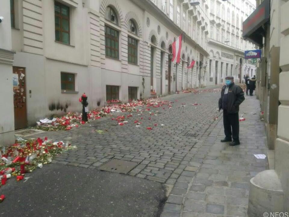 Einer der Tatorte des Wien-Anschlages vom 2. November