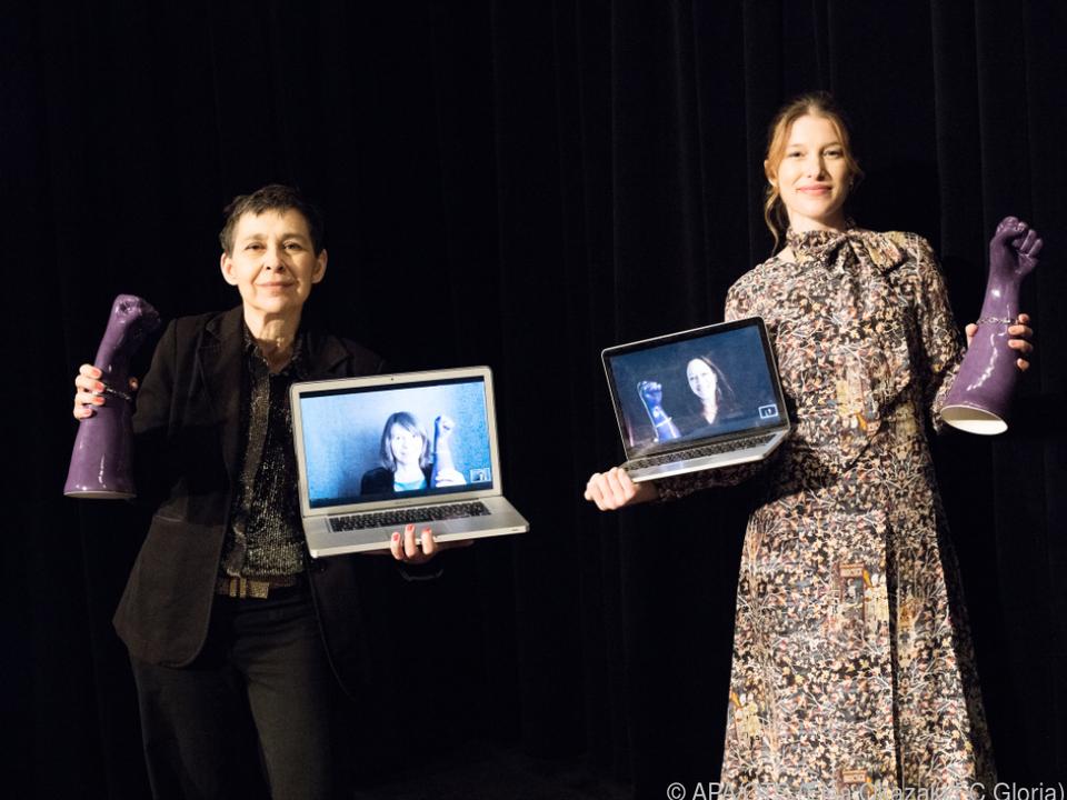 Filmpreise an vier Frauen