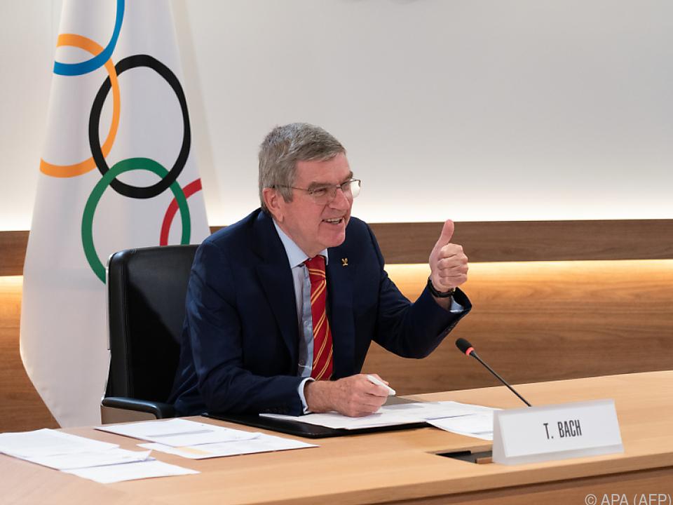 Für IOC-Chef Bach sind olympische Spiele auch ein Weg aus der Krise