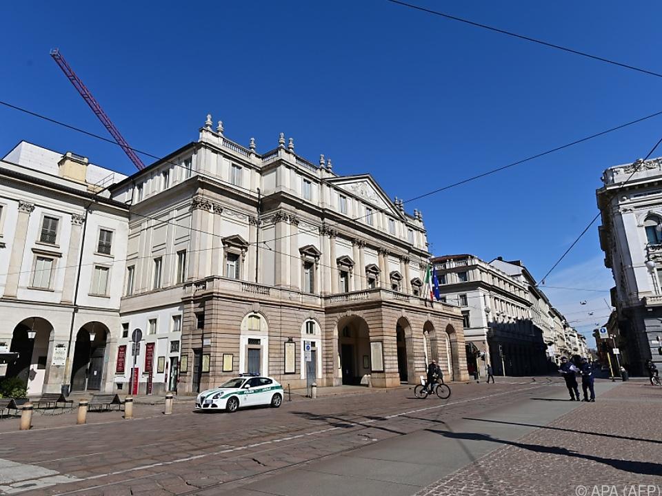 Das Mailänder Opernhaus La Scala (Archivbild)