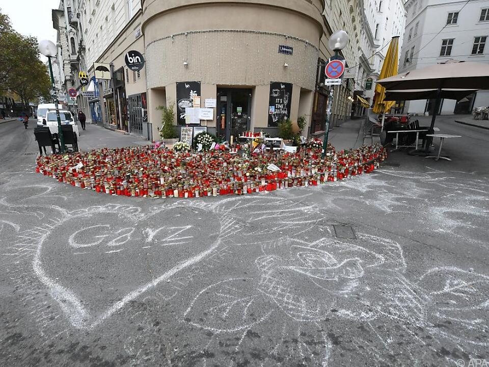 Gedenken an die Opfer des Anschlages