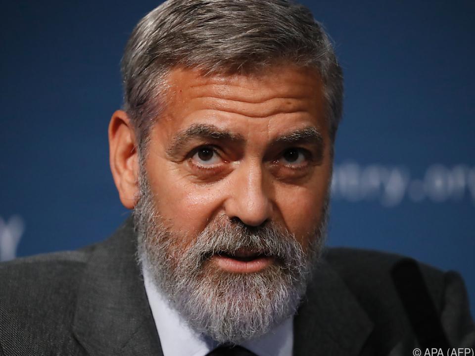 George Clooney nahm in kurzer Zeit 12 Kilo ab