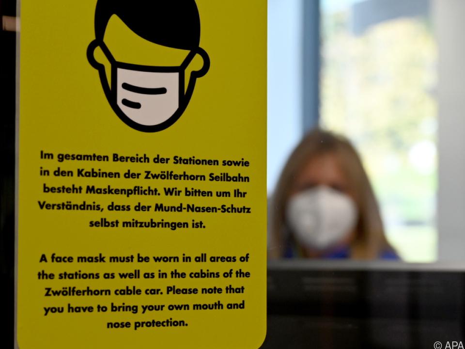 FFP2-Maskenpflicht in Skigebieten stößt auf Kritik der Branche