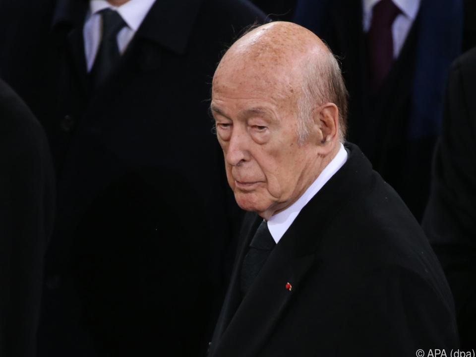 Giscard d\'Estaing wurde 94 Jahre alt