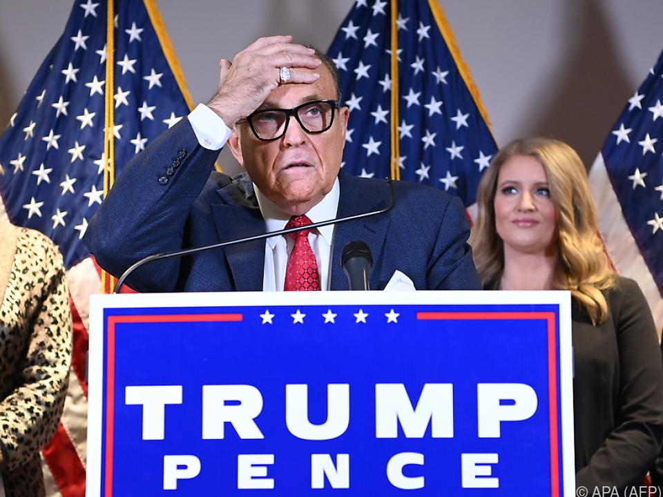 Giuliani gilt als enger Trump-Vertrauter