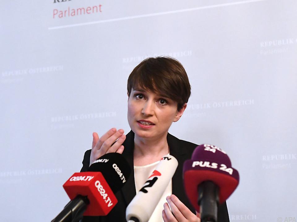 Grünen-Klubobfrau Sigrid Maurer