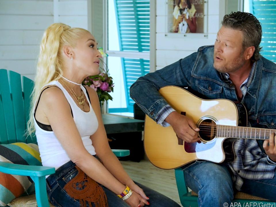 Gwen Stefani und Blake Shelton sind seit 2015 ein Paar