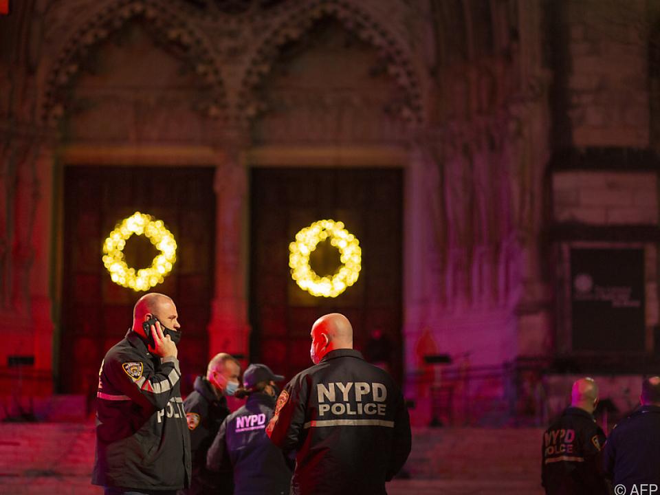 Schießerei vor Kathedrale in New York