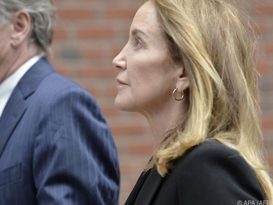 Huffman war Mitte September verurteilt worden