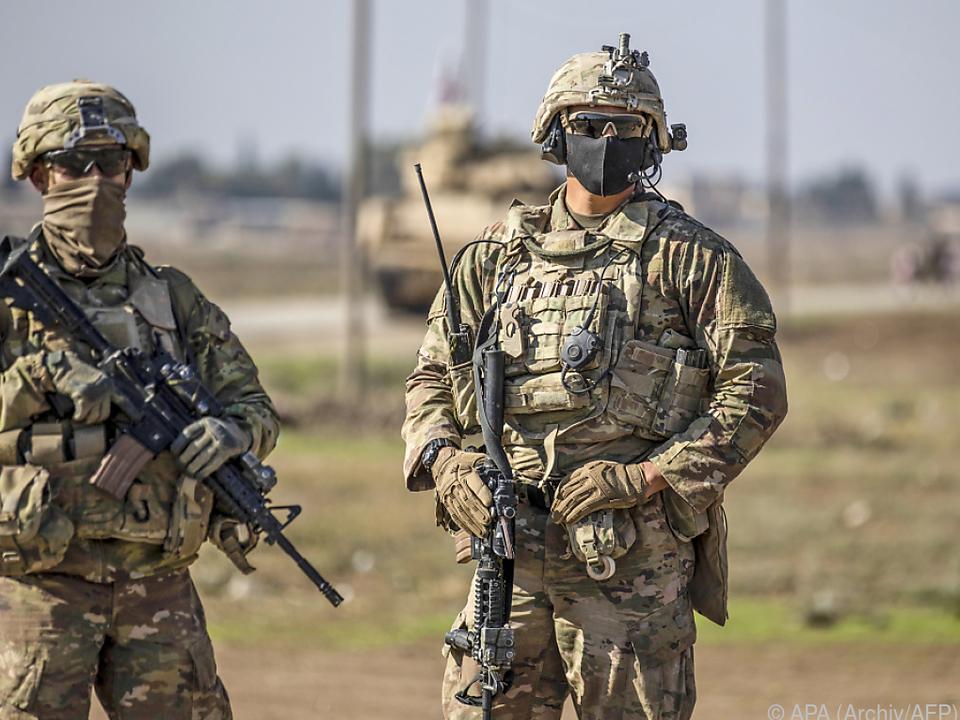 Im Paket ist auch die Finanzierung der US-Streitkräfte