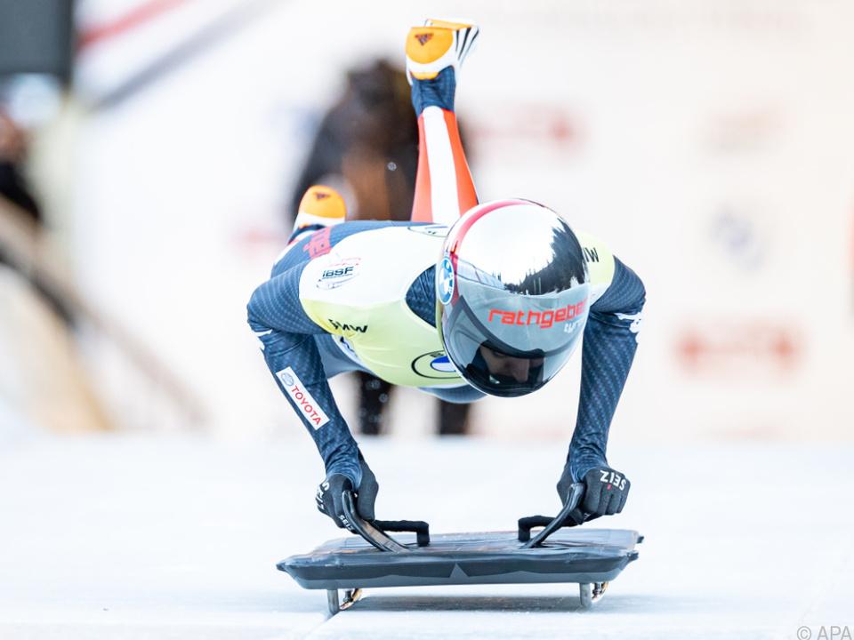 Janine Flock gewann Weltcup in Innsbruck-Igls