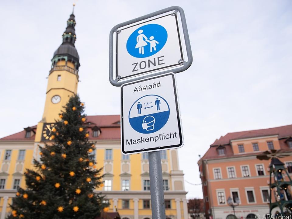 In Sachsen ist die Sieben-Tage-Inzidenz am höchsten