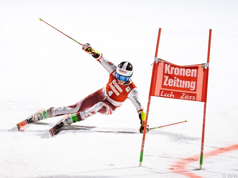 Adrian Pertl mit Vorfreude auf Slalom in Alta Badia
