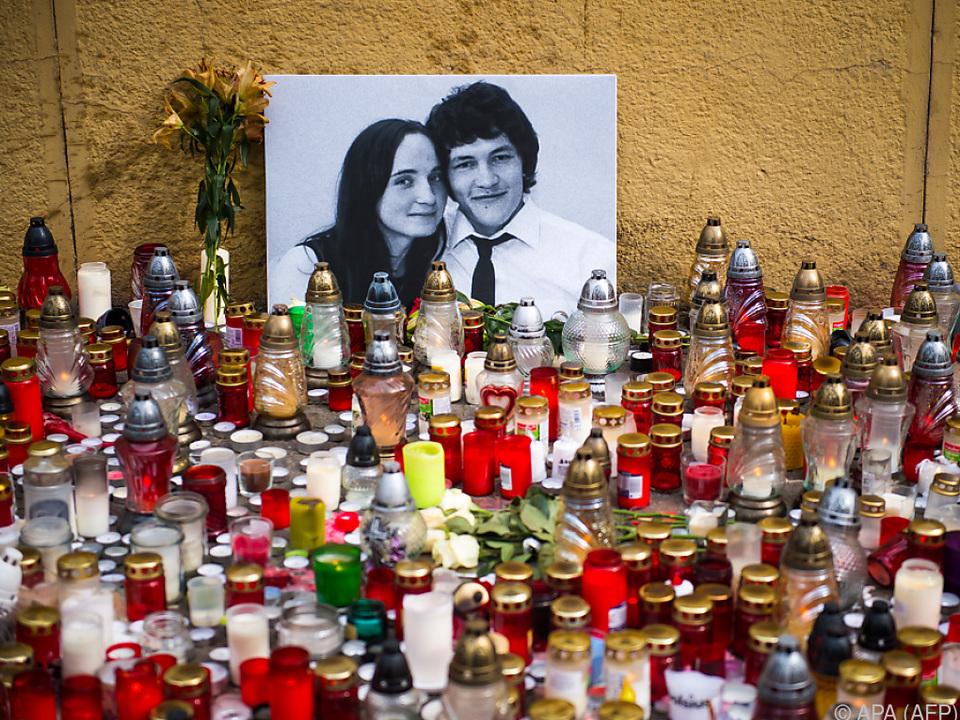 Jan Kuciak und Martina Kusnirova wurden im Februar 2018 getötet