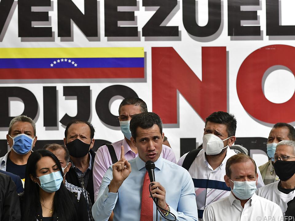 Juan Guaidó stellte seine Forderungen