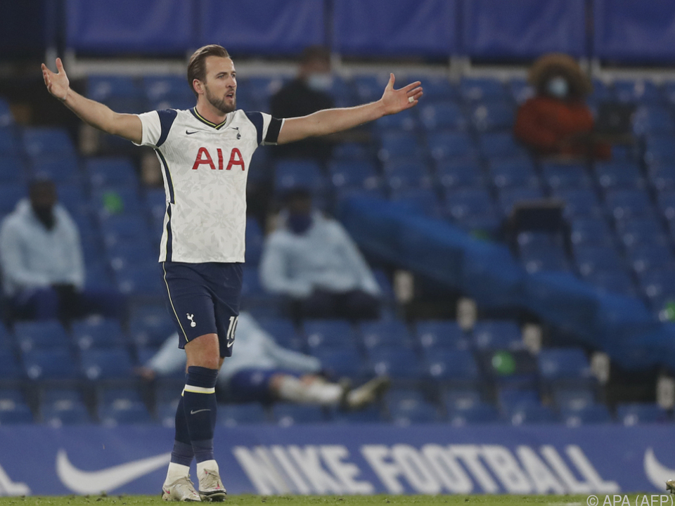 Kane wird Tottenham in Linz fehlen