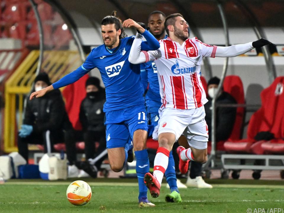 Keine Sieger zwischen RS Belgrad und Hoffenheim