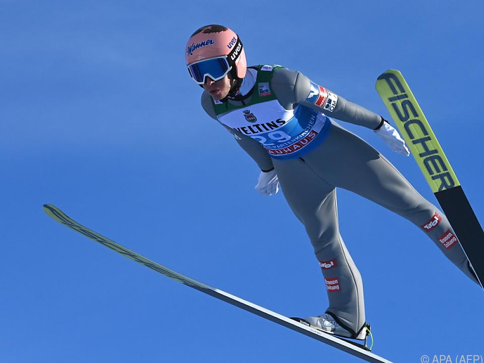 Stefan Kraft ist bereit für Spitzenplatz in Garmisch