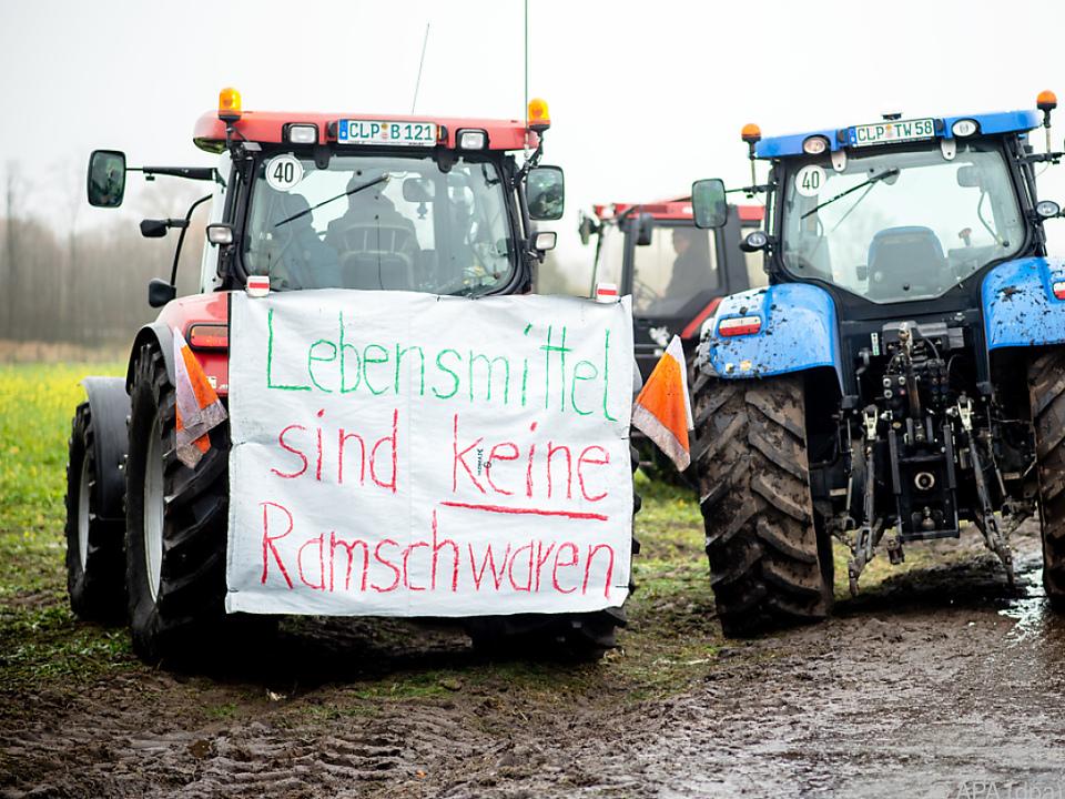 Kritik der Bauern an der \