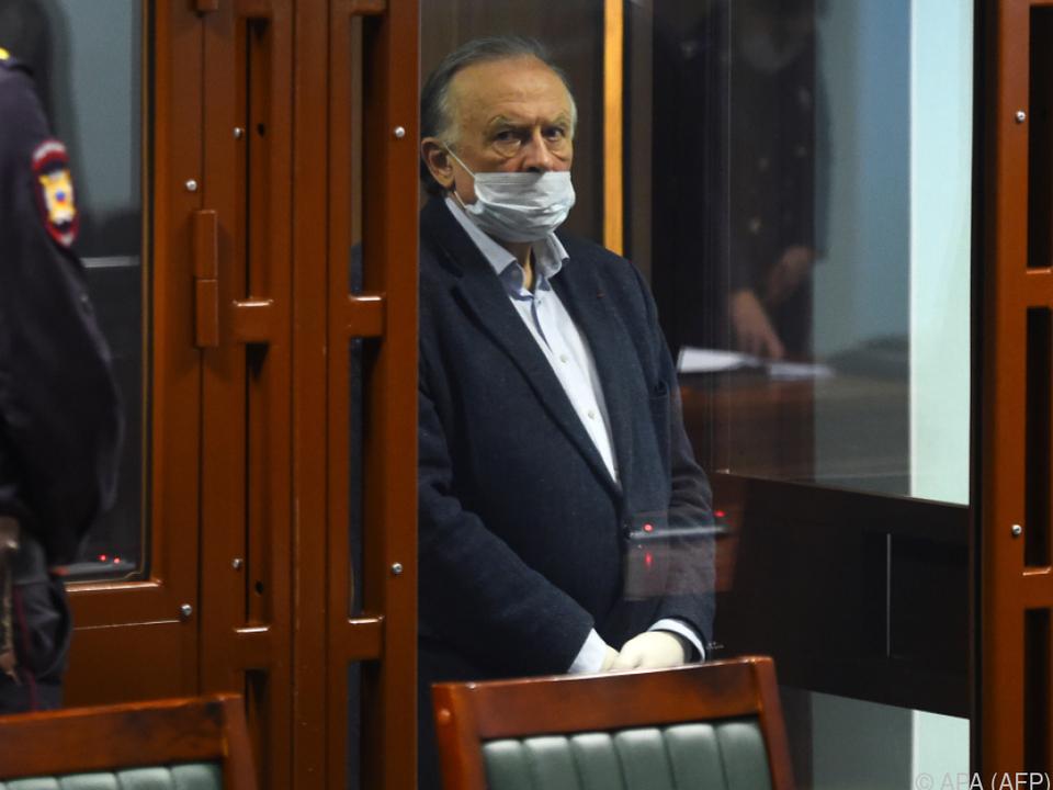 Lange Haftstrafe für den Historiker Oleg Sokolow