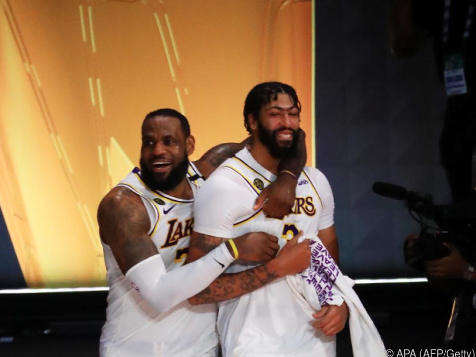 LeBron James und Anthony Davis bleiben in L.A.