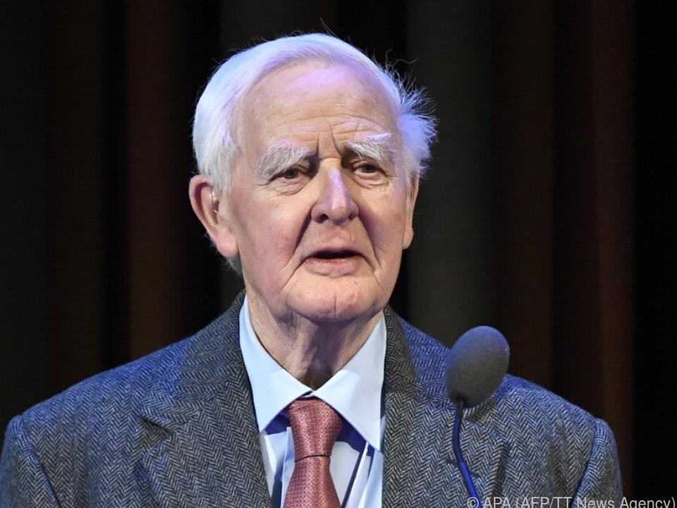 Der britische Spionageschriftsteller John le Carre wurde 89 Jahre alt
