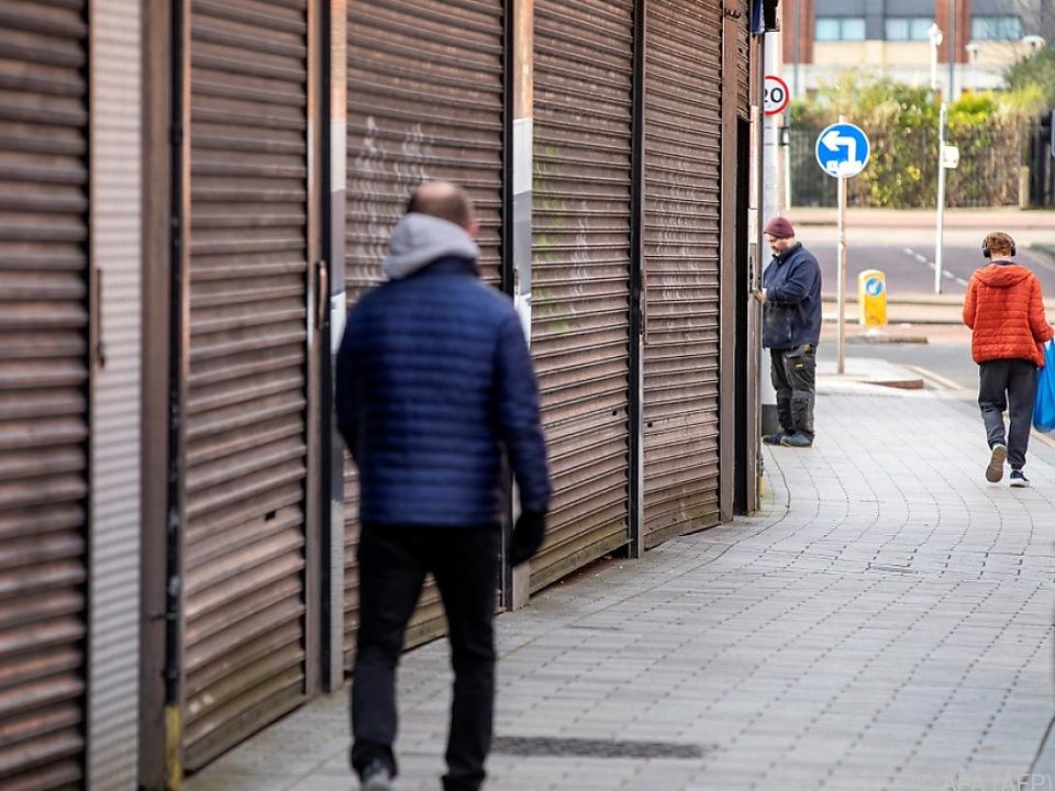 Lockdown auch in Irland
