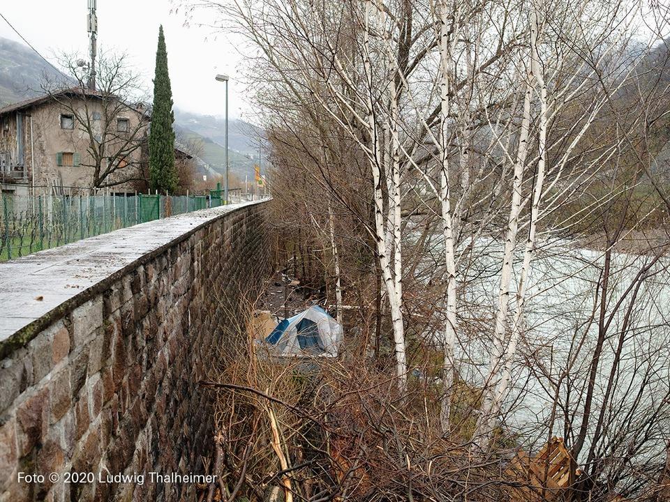 Obdachlos Bozen