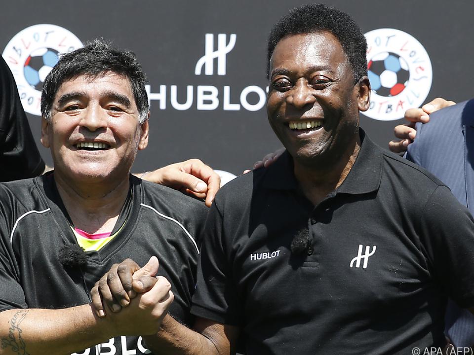 Maradona und Pele