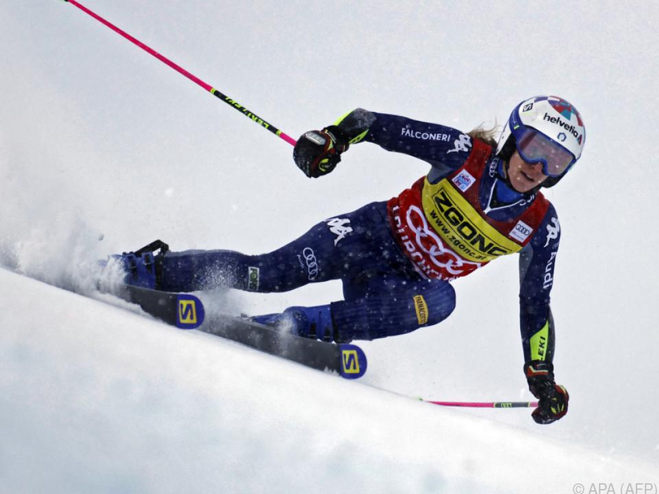 Marta Bassino gewann das Rennen am Samstag