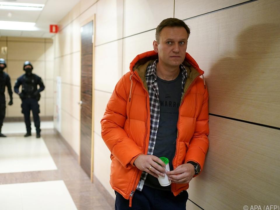 Nawalny sieht Putin als Drahtzieher hinter Vergiftung