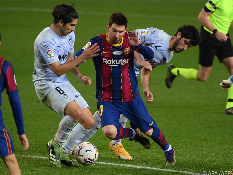 Messi stellte mit seinem Treffer einen Rekord von Pele ein