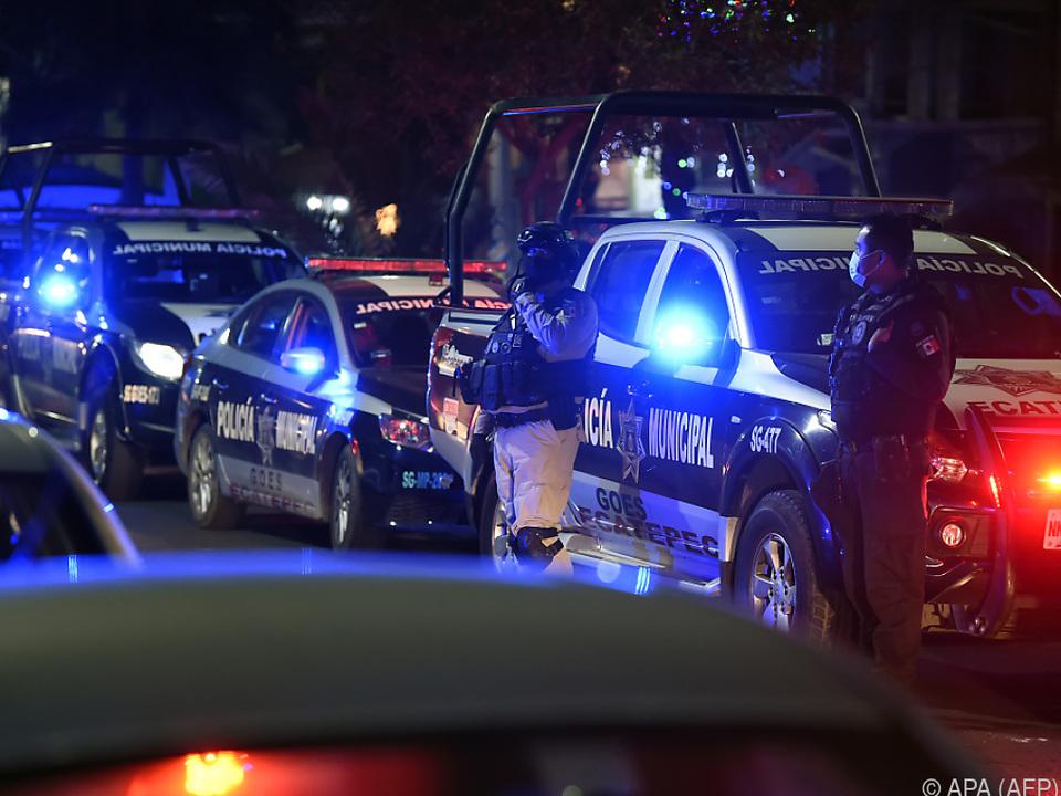 Mexiko mit acht Ermordeten das gefährlichste Land