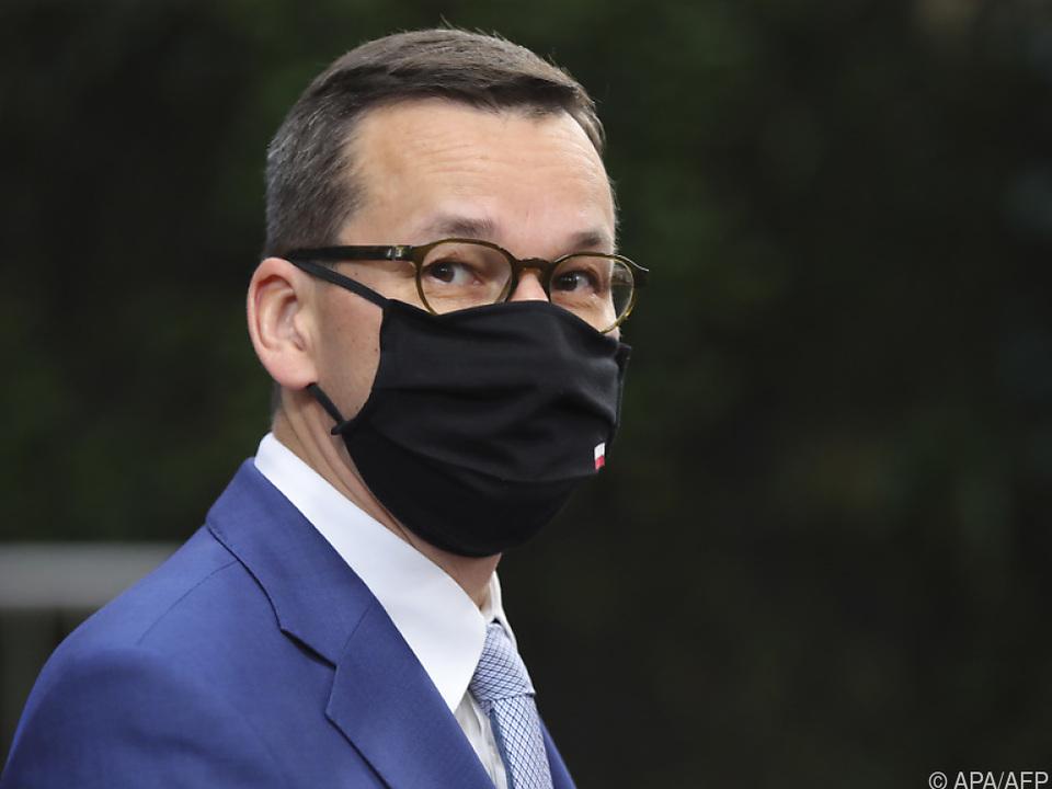 Polens Premier bleibt gegenüber EU hart