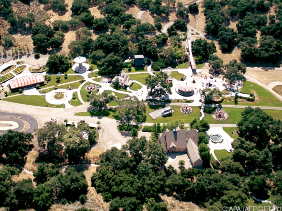 Mit der Villa hatte sich Michael Jackson einen Traum erfüllt